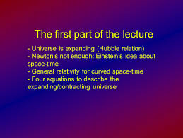 understanding the universe summary lecture volker beckmann joint