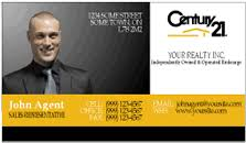 Century 21 Business Cards Printforlesscanada Com Century 21 Business Cards Full Colour