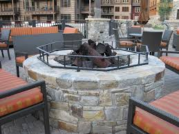 Outdoor Stone Firepits by Fire Pits Sbi Materials