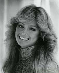 1970s hair shoulder length farrah s beautiful hairdo farrah fawcett hair style and roller set