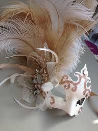 venetian masks bulk luxury ornate chagne gold white venetian mask masque
