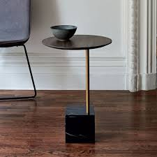 C Side Table Light Option For A Side Table Cube C Side Table Umber Black