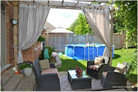 diy patio curtains 100 things 2 do