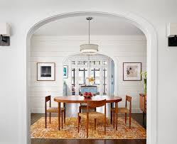 area rug for dining room austin orange area rug dining room farmhouse with open doorway d