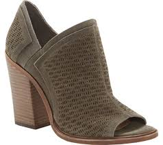 vince camuto womens vince camuto karini open toe bootie free shipping exchanges