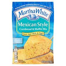 martha white mexican style cornbread u0026 muffin mix 6 oz walmart com