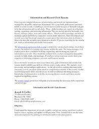 Medical Records Job Duties Best Photos Of Records Clerk Resume Medical Records Clerk Resume