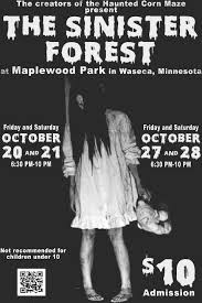 sinister forest waseca area chamber of commerce waseca mn