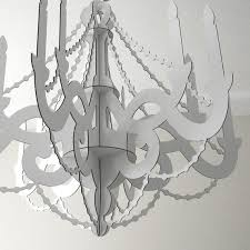 25 unique cardboard chandelier ideas on paper
