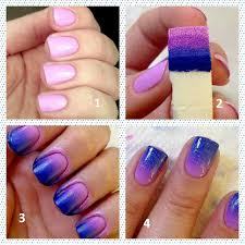 easy ombre nail art at home nadine beauty forever