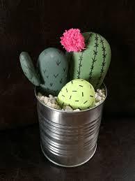 Desk Rock Garden Diy Cactus Rock Garden