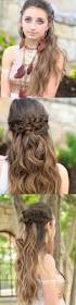 25 easy half up half down hairstyle tutorials for prom crown
