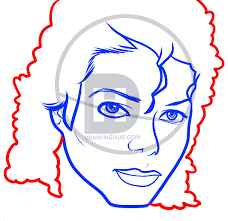 how to draw michael jackson easy step by step drawing guide by