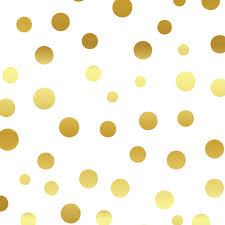 gold metallic polka dot locker wallpaper the container store