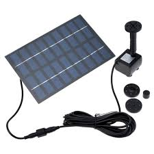 solar powered small fountain home outdoor decoration