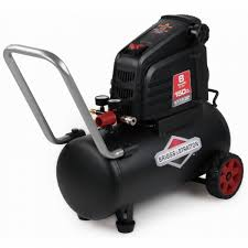 briggs u0026 stratton 8 gallon oil free portable electric air