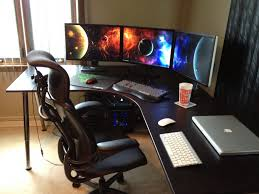 Gaming Desk Setup Uncategorized Gaming Corner Desk Best Of The Most Awesome Images