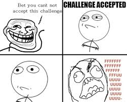 Challenge Accepted Meme Face - images troll face comics challenge accepted