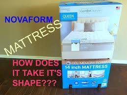 Memory Foam Mattress Topper Reviews Bedroom Costco Novaform Sleep Innovations Memory Foam Mattress