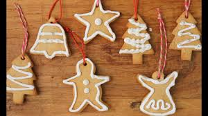 christmas recipe how to make gingerbread christmas decorations