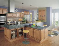kitchen style light medium tone wooden cabinet and kitchen island