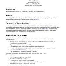 veterinary technician resume exles templates veterinary technician resume fred resumes exle in