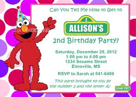 elmo birthday party invitations elmo birthday party invitations