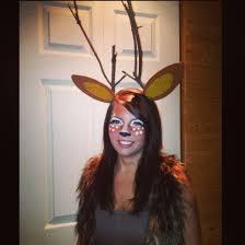 Deer Head Halloween Costume 17 Halloween Images Costumes Deer Makeup