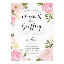 wedding invitations floral floral wedding invitations marialonghi