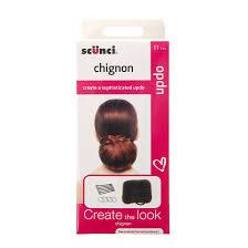 scunci hair scunci chignon bun hair tool kit s