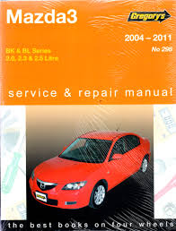 mazda3 2004 2011 gregorys workshop repair manual workshop car