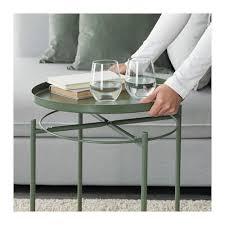 Ikea Folding Coffee Table - gladom tray table dark green ikea
