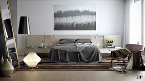 wonderful white grey brown wood glass cool design neutral bedroom