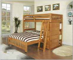 Bedroom  Bunk Beds With Stairs Storage Bunk Beds With Tent Triple - Living spaces bunk beds