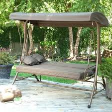 Patio Chair Swing Garden Treasures Patio Swings Medium Size Of Porch Swing Bed