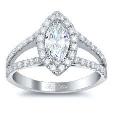 marquise halo engagement ring split style marquise halo engagement ring