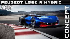 peugeot sports car price 2016 peugeot l500 r hybrid concept review rendered price specs