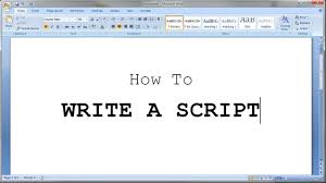 How To Properly Write A Letter Of Resignation How To Write A Short Script Youtube