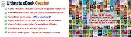 format for ebook publishing ebook creator software ultimate ebook creator for amazon kindle