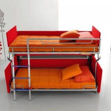 Bunk Bed Sofa by Bedroom Convertible Couch Bunk Bed Painted Wood Wall Mirrors