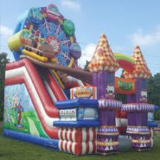carnival rentals slide rentals in miami