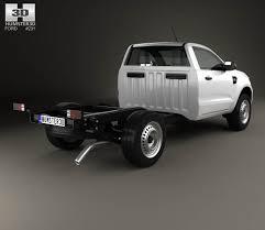 Ford Ranger Truck Models - ford ranger single cab chassis xl 2015 3d model hum3d