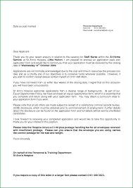 10 application letter for nurses applicationsformat info