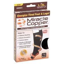best black friday deals tv 77095 as seen on tv miracle copper copper infused compression socks l