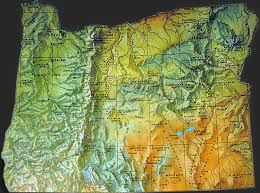 map of oregon detailed oregon map oregon geography indian tribes map american