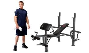 Marcy Diamond Elite Weight Bench All In One Workout Bench Groupon Goods