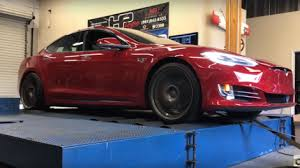 here u0027s how much quicker a stripped out tesla model s p100d is