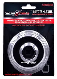 lexus warranty oil change amazon com motivx tools toyota u0026 lexus oil filter wrench for 2 5l