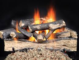 How To Install Gas Logs In Existing Fireplace by Gas Fireplace Logs Log Sets Heat U0026 Glo