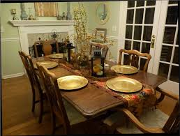 dining room table decorating ideas for fall decor